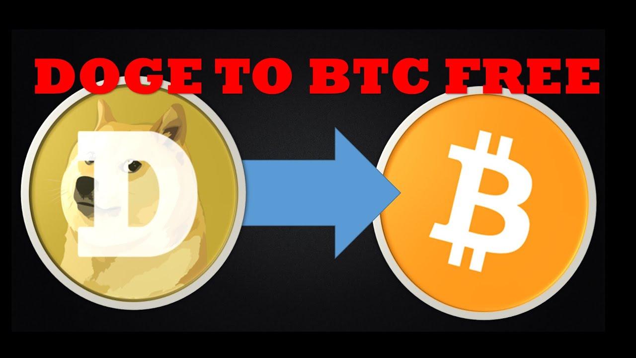 Convertir DogeCoin a BitCoin o mas monedas gratis y rapido (DOGE to BTC)  + Info adicional