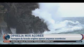 Hurricane Ophelia Hits Europe Azores Portugal