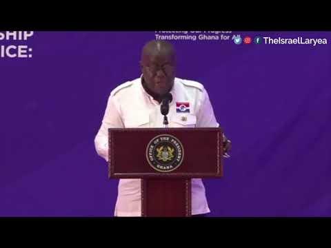 NANA AKUFO-ADDO SPEAKS AT NPP 2020 MANIFESTO LAUNCH
