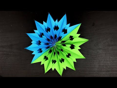 Christmas Star - How To Make Paper Star For Christmas Decorations At Home / Paper Star  / diy