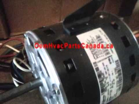 Canada GE Blower Motor 3785  13HP  Direct Drive 21L9201  60L21  YouTube