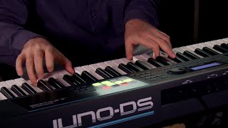 Roland JUNO-DS Synthesizer Performance with Scott Tibbs