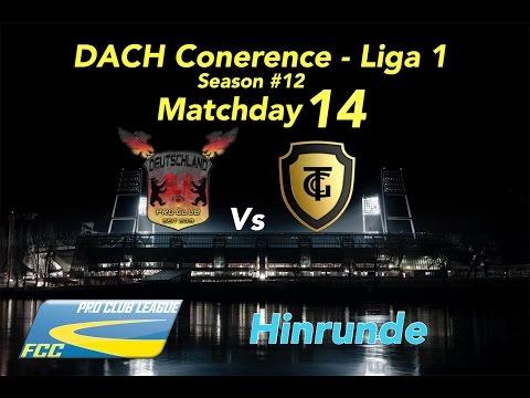 FCC DACH Conf 1 Season #12 Matchday 14 Vs Deutschland BLN l 0:4 S