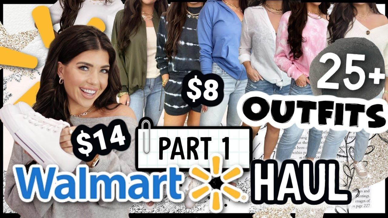 WALMART HAUL 2021   *HUGE* Walmart Try On Clothing Haul    25+ OUTFITS   Part 1 #WalmartFashion