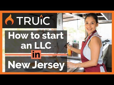 NJ LLC - How To Start An LLC  In New Jersey - Short Version
