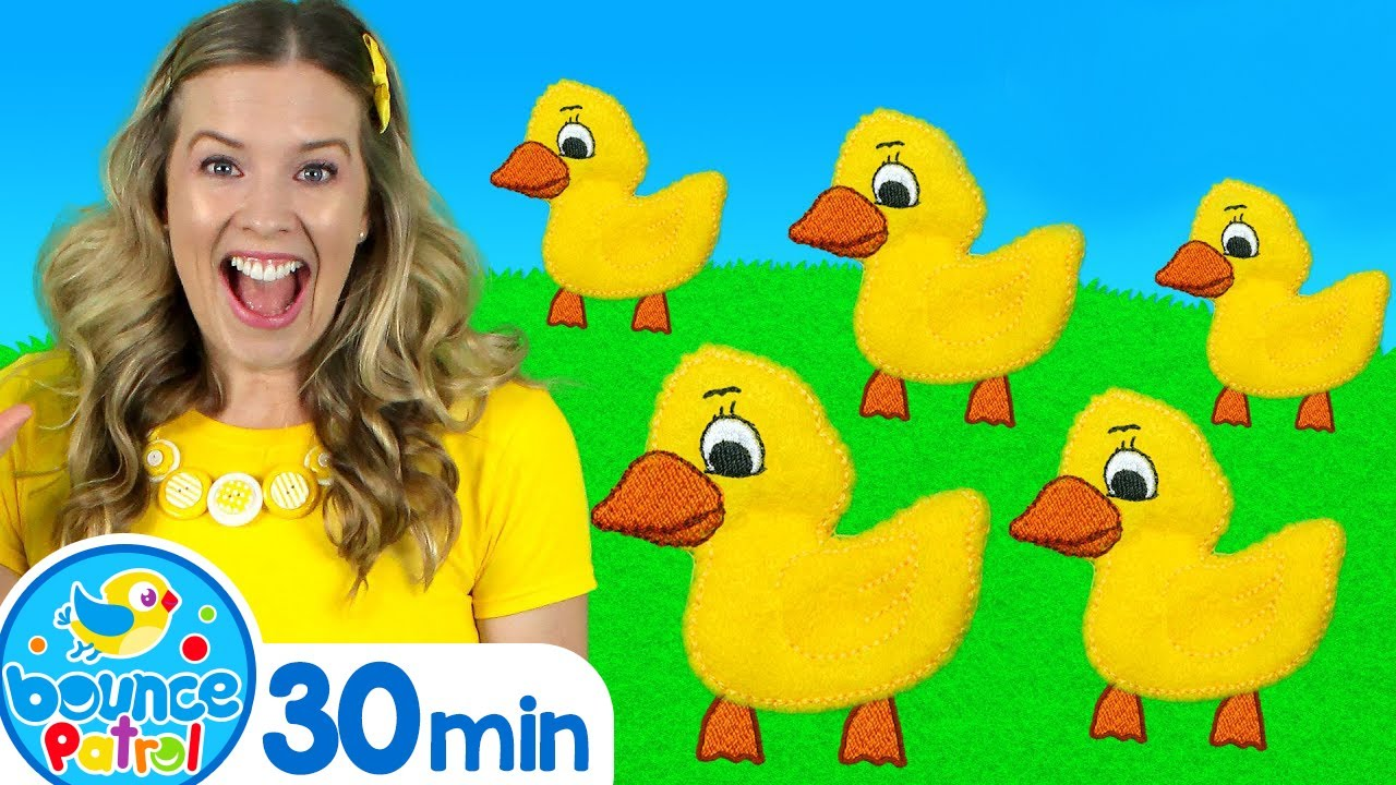 Five Little Ducks & More! | Kids Songs and Nursery Rhymes - Learn counting, learn the alphabet
