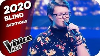 Freya Ridings - You Mean The World To Me (Kira Mae) | The Voice Kids 2020 | Blind Auditions