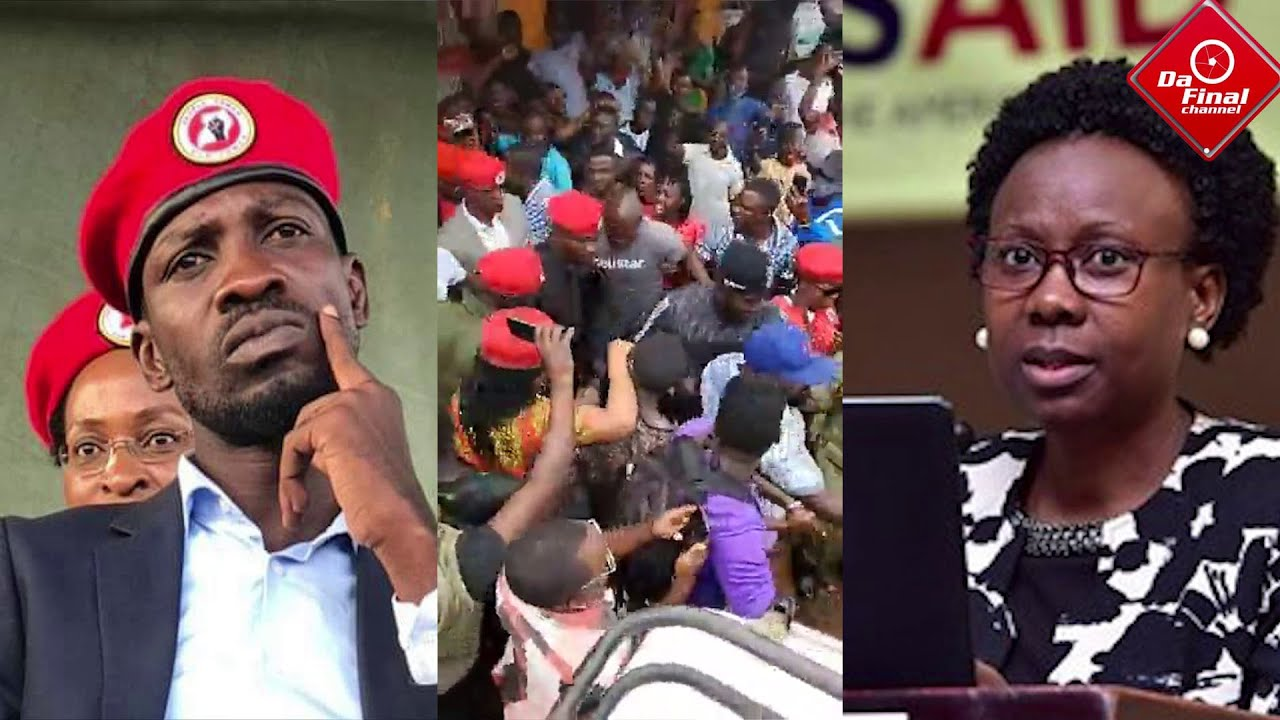 BOBI WINE: CALLS OUT JANE RUTH ACENG FOR HOLDING A POLITICAL RALLY WHILE NRM IS BLOCKING OPPOSITION