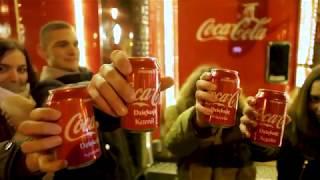 Świąteczna ciężarówka Coca-Cola w Głogowie | #Dziekuje