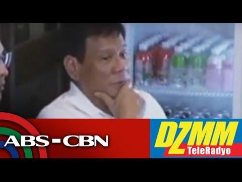 DZMM TeleRadyo: China must follow arbitration ruling, Duterte says