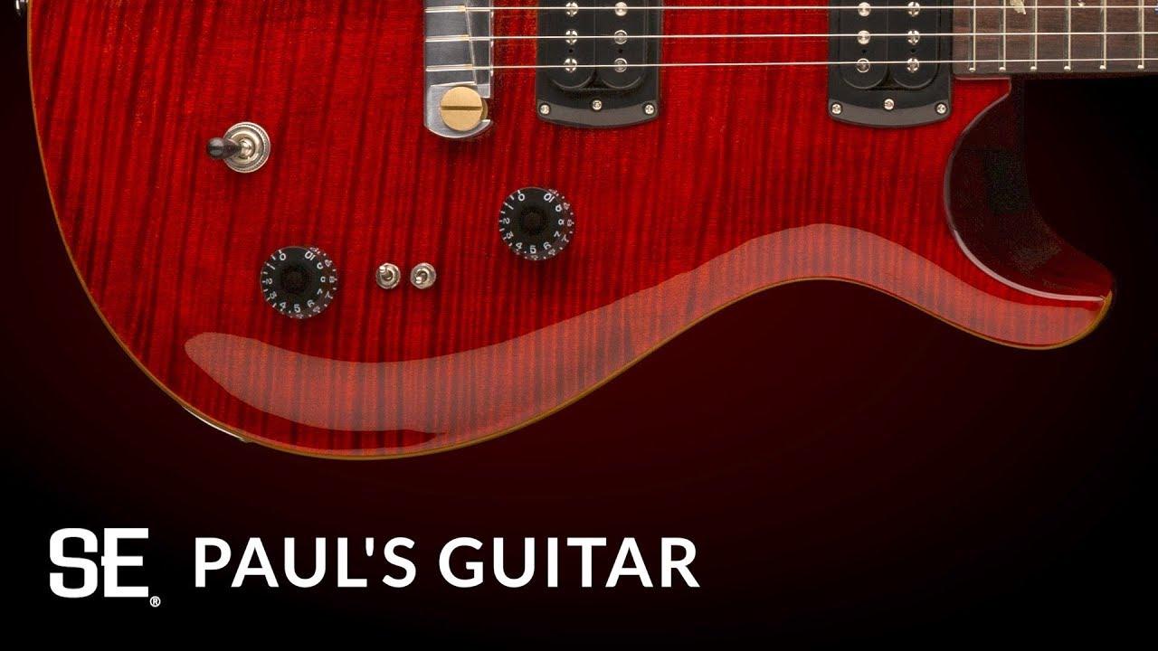 Meet The Three New 2019 SE Signature Guitars