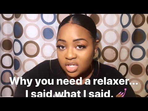 Dear Black Girl: Please...Relax your hair!
