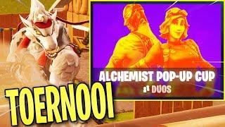 ALCHEMIST POP-UP CUP TOERNOOI met Djuncan! | Fortnite LIVE (Nederlands / NL)