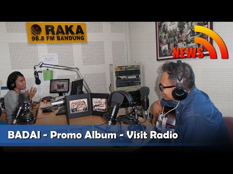 Nagaswara News- Badai Promo Album Life Love Women di Radio Jawa Barat - NSTV