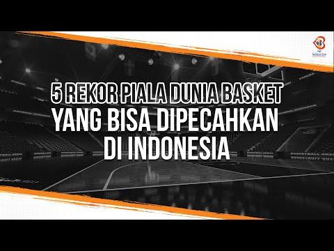 5 Rekor Piala Dunia Basket yang Bisa Dipecahkan di Indonesia