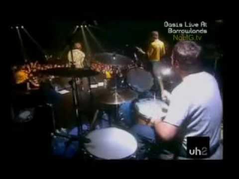 Oasis -  Morning Glory -  Barrowlands  - Glasgow