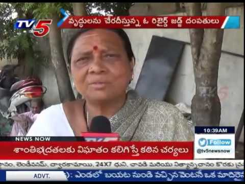 Special Story   Retired Judge Giving a home to the Destitute : TV5 News