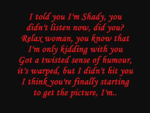 Eminem - So Bad Lyrics