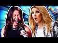 Famous Singers Attempting Céline Dion's Hardest Songs! (Live)