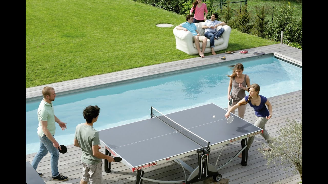Exceptional Outdoor Ping Pong Tables By Thailand Pool Tables   YouTube