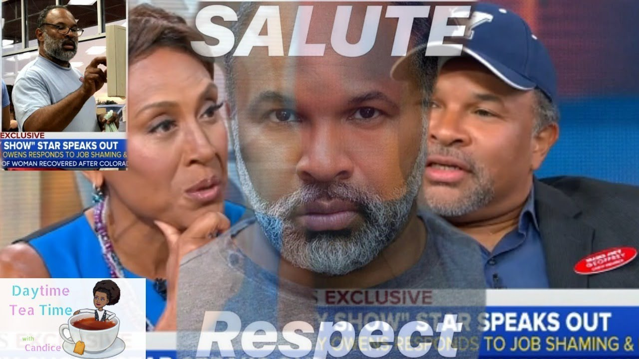 COSBY SHOW actor Geoffrey Owens FINALLY SPEAKS OUT in NEW INTERVIEW | He wears TRADER JOES name tag!