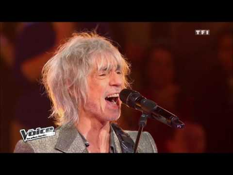 The Voice 2013 | Garou, Bertignac, Pagny & Jenifer - Start Me Up (The Rolling Stone) | Battle