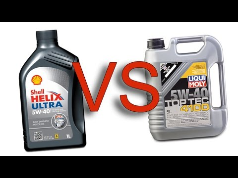 shell helix ultra 5w40 vs liqui moly toptec 4100 5w40 test. Black Bedroom Furniture Sets. Home Design Ideas