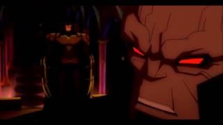 Amenaza de Batman a Darkseid en  Superman/Batman Apocalypse (2010)