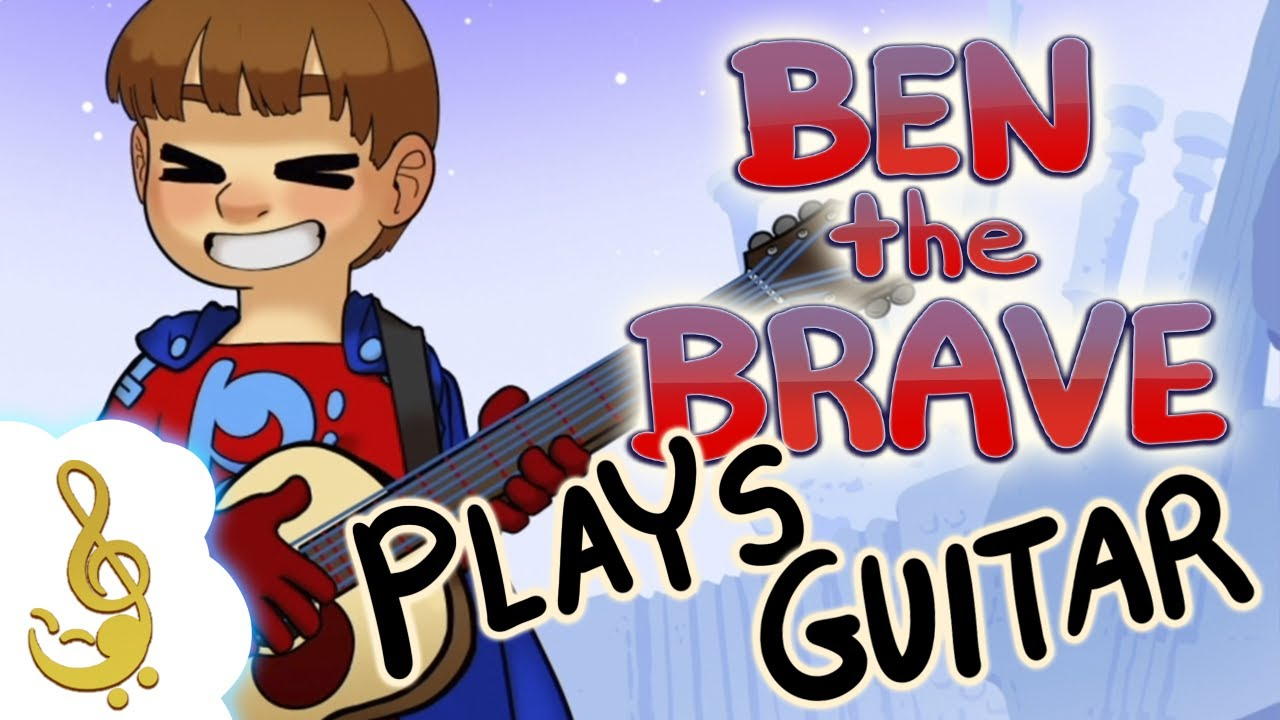 Ben The Brave Official Channel | Ben Plays Acoustic Guitar