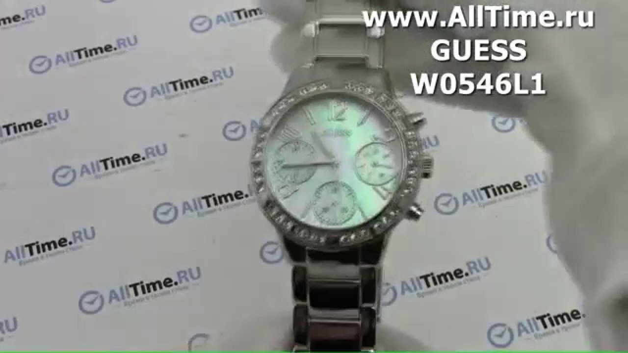 Обзор. Женские наручные часы Guess W0546L1 - YouTube f834009b3ec84