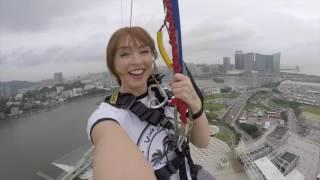 Macau Bungy Jump for Viola Beach & Craig Tarry 07/09/2016- Ariane Sallis