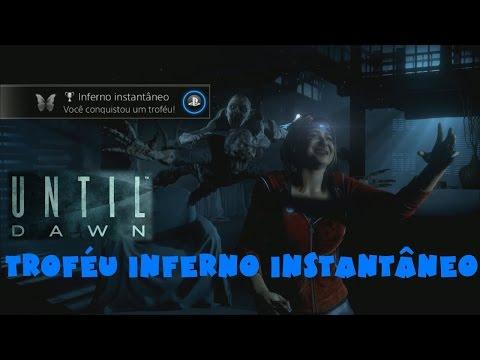 Troféu Inferno Instantâneo - Sam acionou imediatamente o interruptor - Until  Dawn Guia de Troféu e436dad122c03