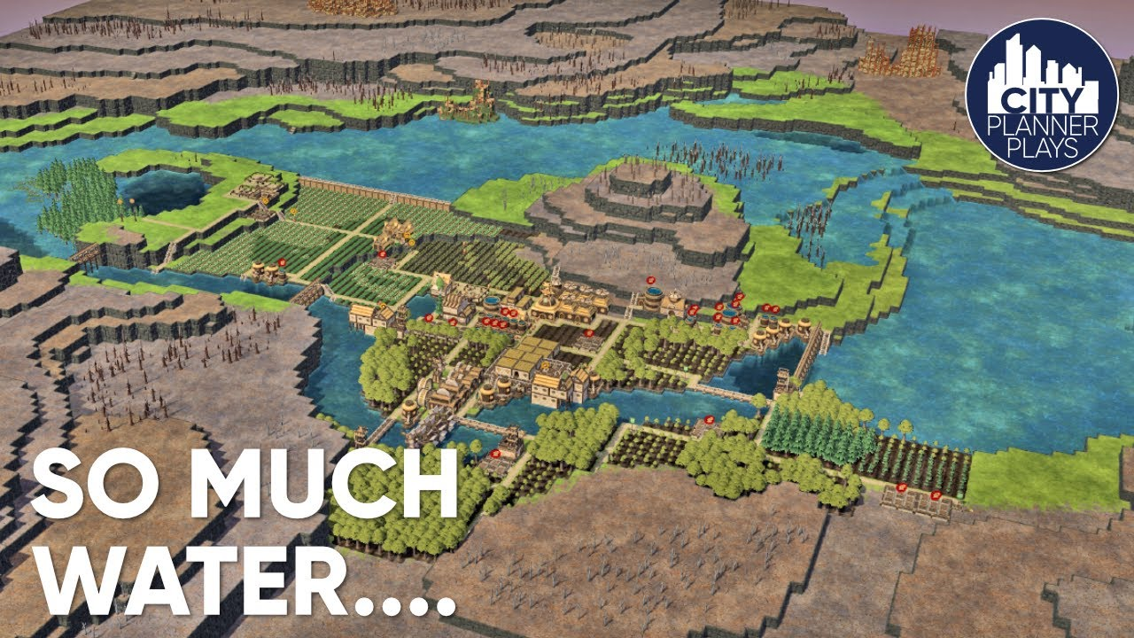 Download Flooding the Entire Map for Farmland in Timberborn! (ep. 3)
