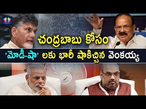 Venkaiah Naidu Comments Shocked 'Modi' And 'Amit Shah' | Andhra Pradesh Package | TFC News