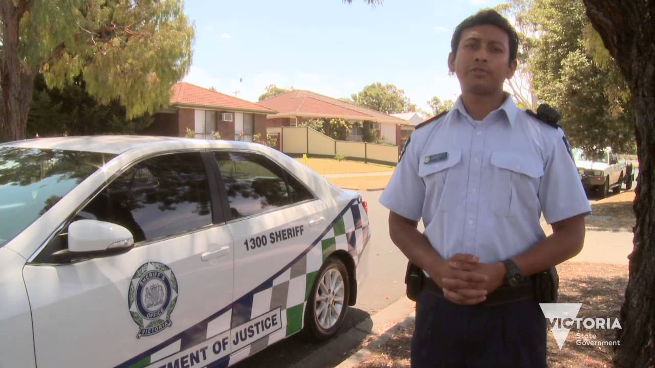 What Is The Role Of A Sheriff S Officer In Victoria