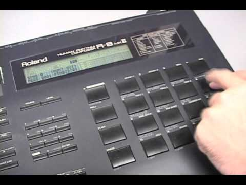 roland r 8 mkii demo song and preset drum kits youtube. Black Bedroom Furniture Sets. Home Design Ideas