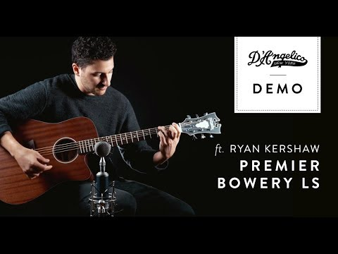 Premier Bowery LS Demo | D'Angelico Guitars