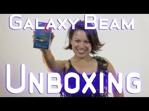 Samsung Galaxy Beam GT-I8530 unboxing