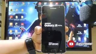 Galaxy J5 2016 Hard Reset Desbloqueo de Contraseña SM-J510