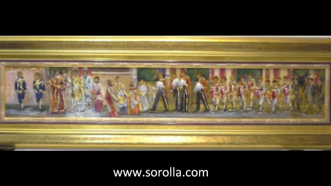 Aurora gallego obras y pinturas al leo de seises for Galeria de arte sorolla