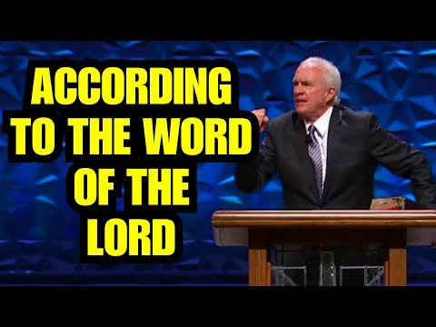 """According To The Word Of The Lord"" – Anthony Mangun"