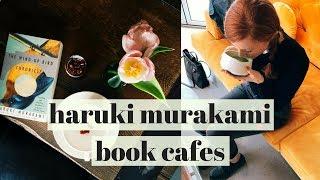 Visiting Haruki Murakami Book Cafes in Seoul Korea Vlog