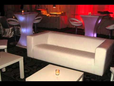 New York Lounge Decor Rentals by RockStar Events at Vanderbilt Staten Island