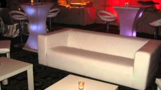 New York Lounge Decor Rentals by RockStar Events at Vanderbilt Staten Island
