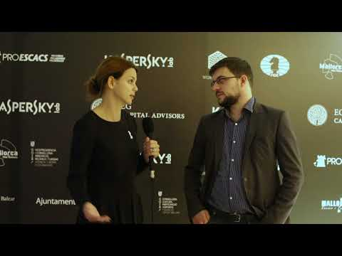 Round 9. Interview with Vachier-Lagrave