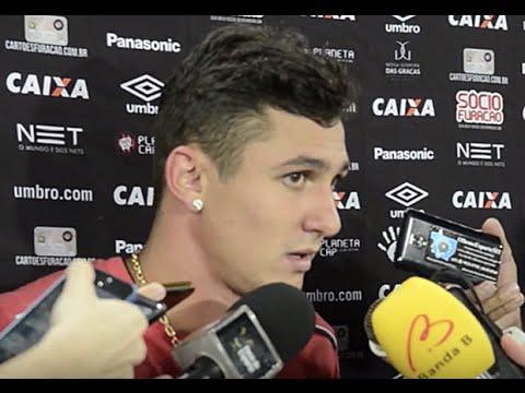 Entrevista pós-jogo: Dom Bosco 2x2 Atlético Paranaense - Vinícius
