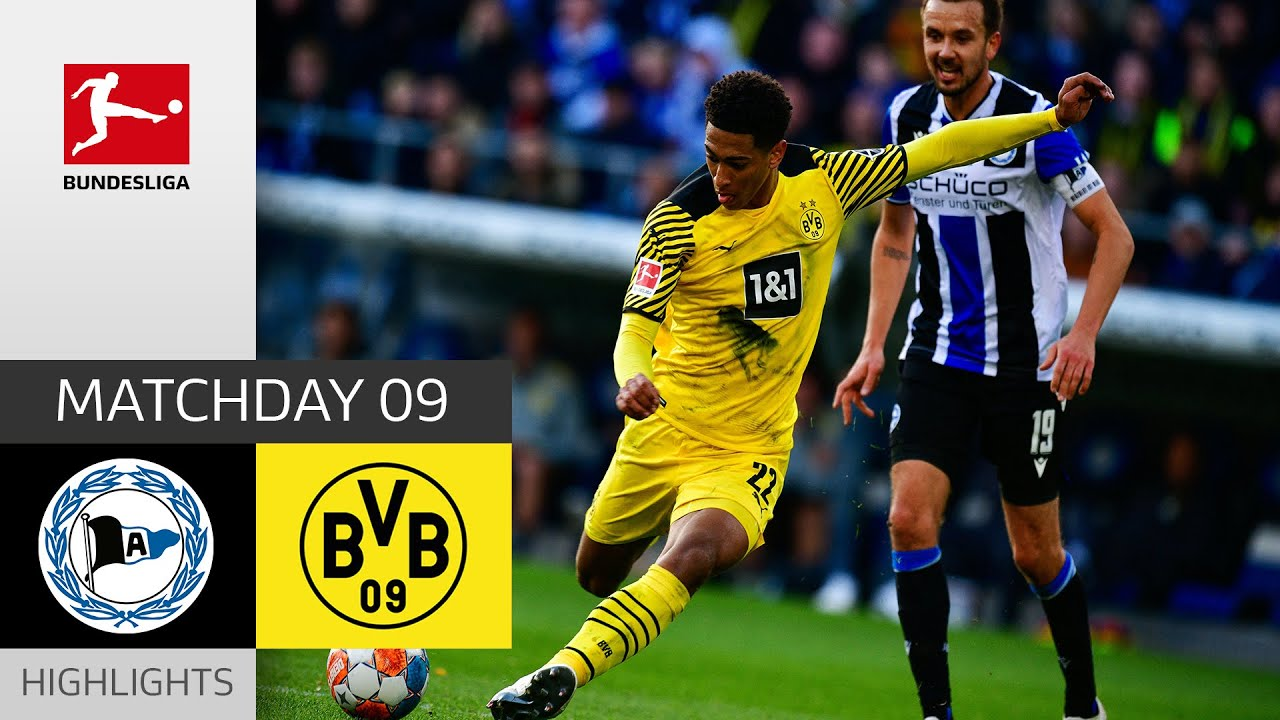 Arminia Bielefeld  Borussia Dortmund 13  Highlights  Matchday 9  Bundesliga 202122