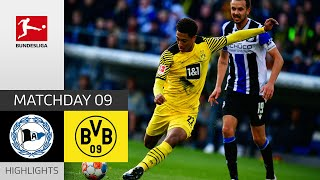 Arminia Bielefeld Borussia Dortmund 1 3 Highlights Matchday 9 Bundesliga 2021 22