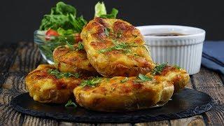 Herzhaft gefüllte Ofenkartoffeln bestechen mit doppeltem Käseeinsatz.