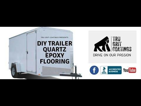 Tru-Quartz Epoxy Trailer